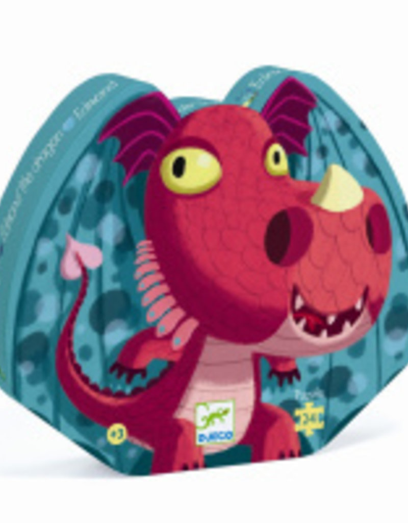 Djeco Puzzel Draak
