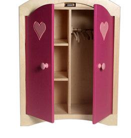 Van Dijk Toys Kledingkast Roze