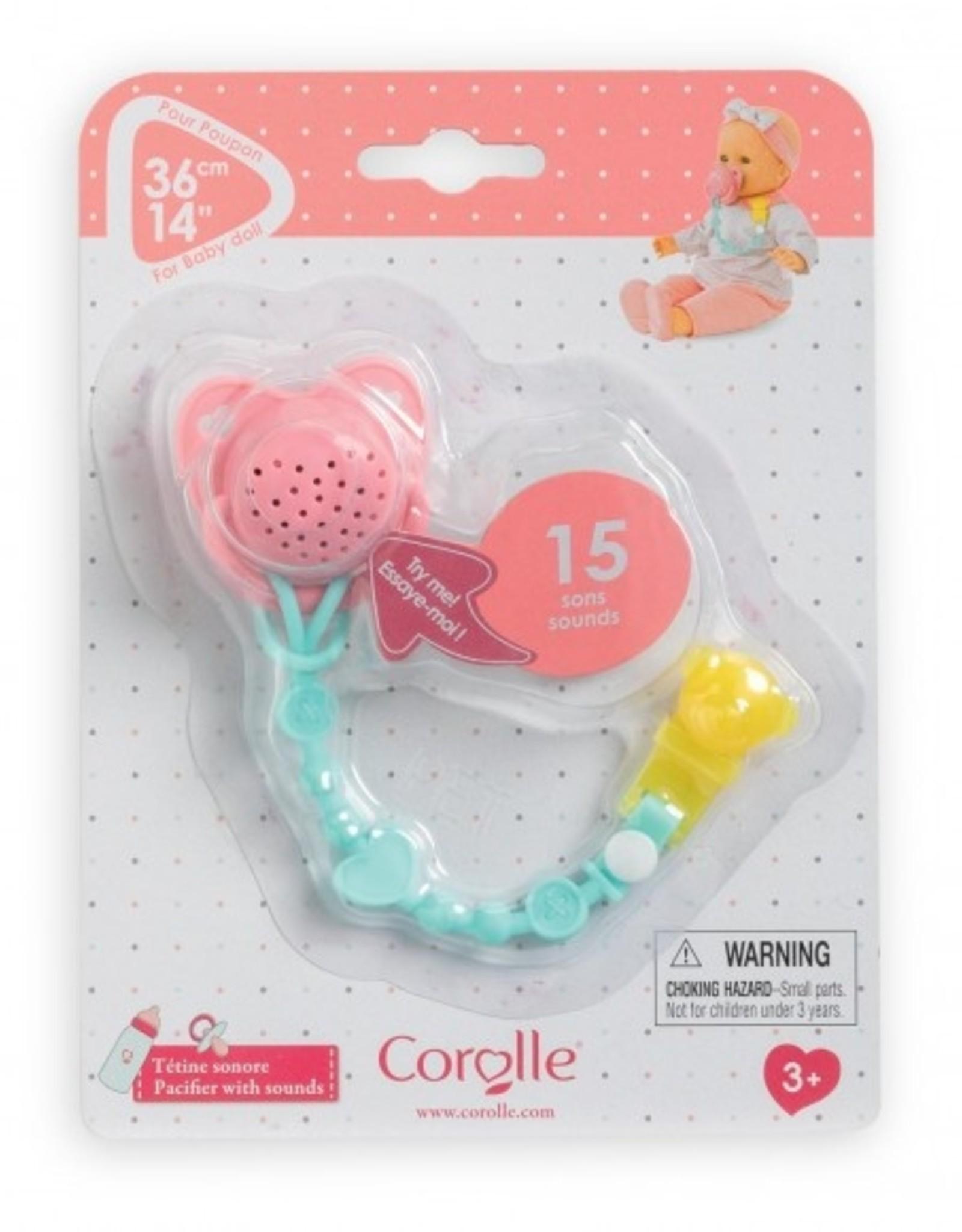 Corolle Geluidsspeen voor baby 36 cm
