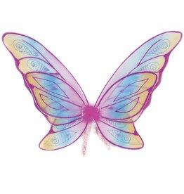 Great Pretenders Vleugels Glitter Fuchsia