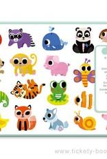 Djeco Stickers Groot Diertjes