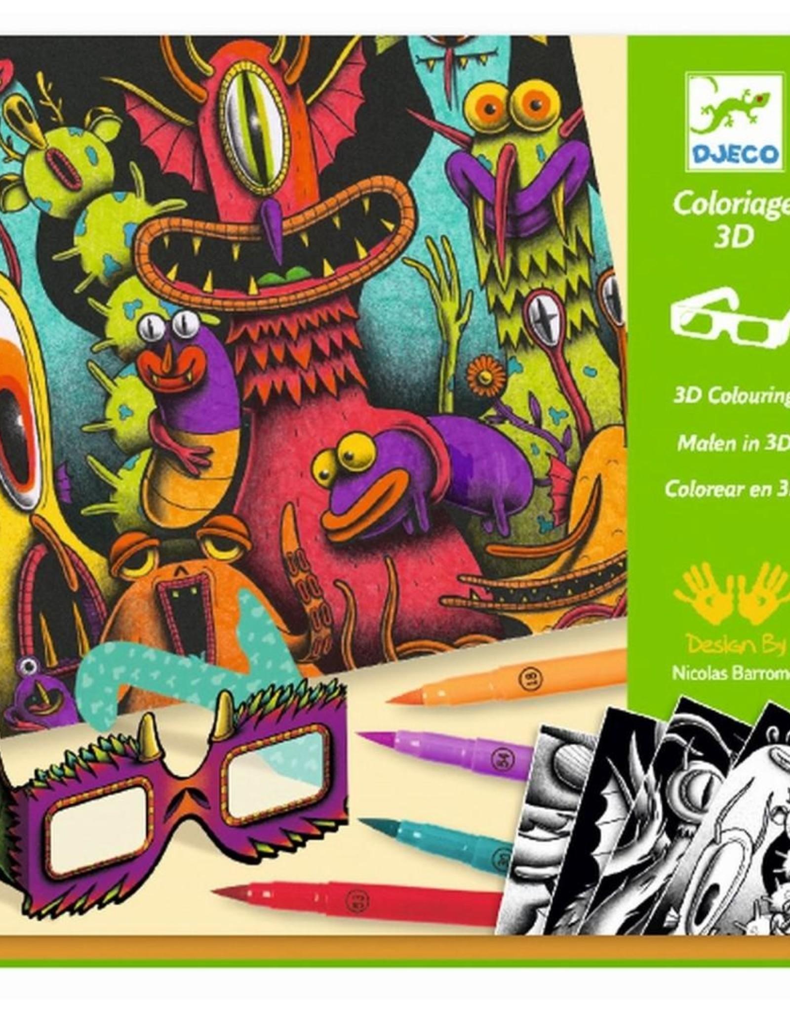 Djeco 3D Kleurset Freaks