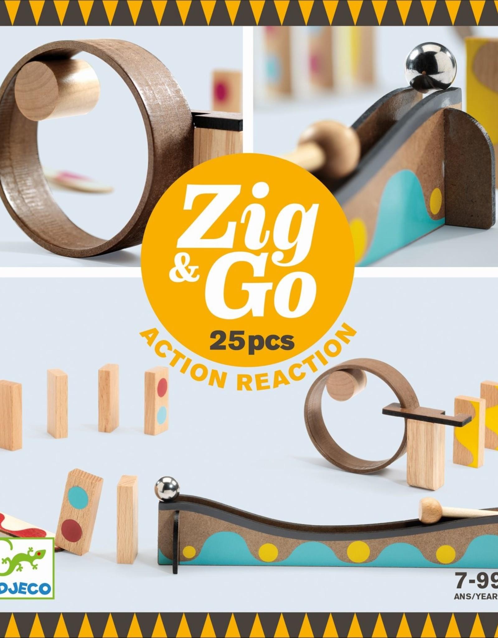 Djeco Zig & Go 25ST