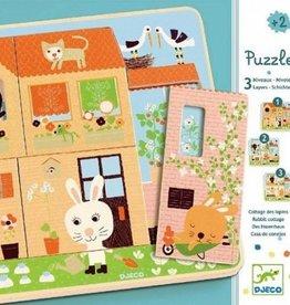 Djeco Puzzel Chez-Carot