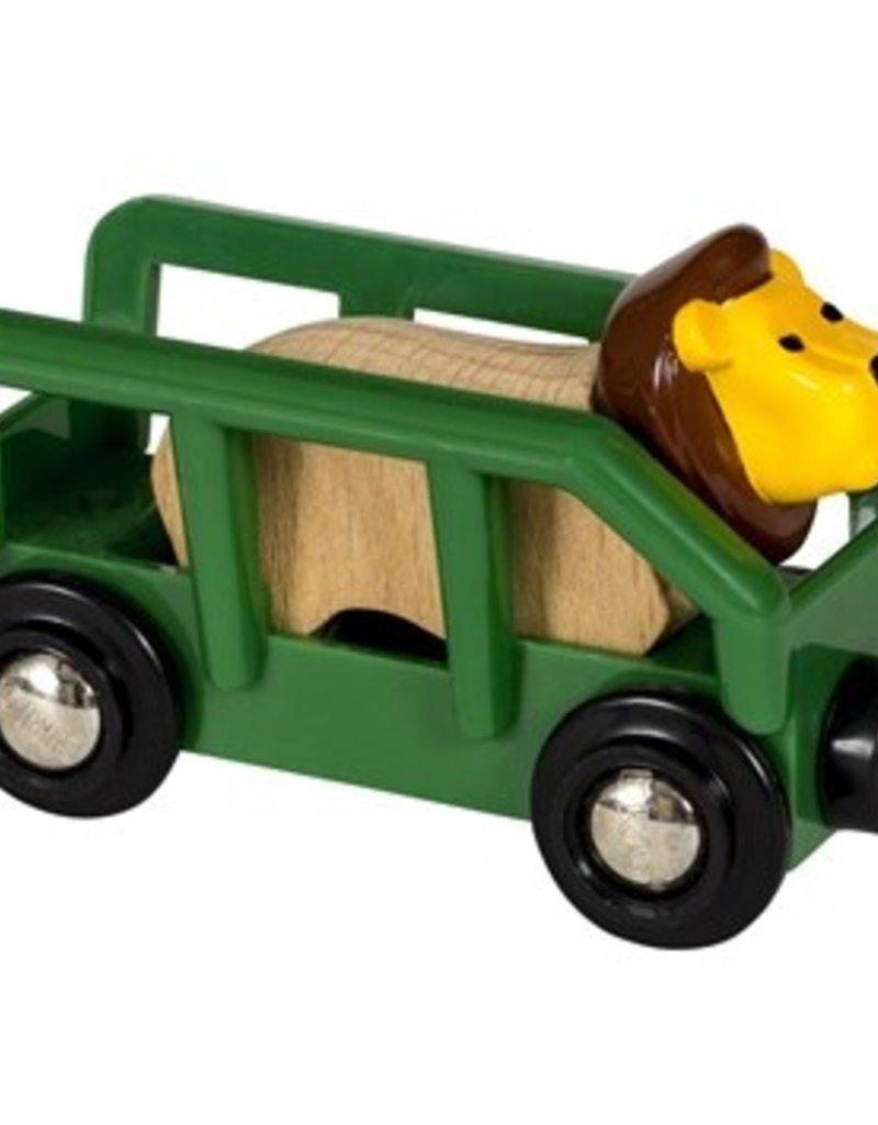 Brio Wagon met Leeuw