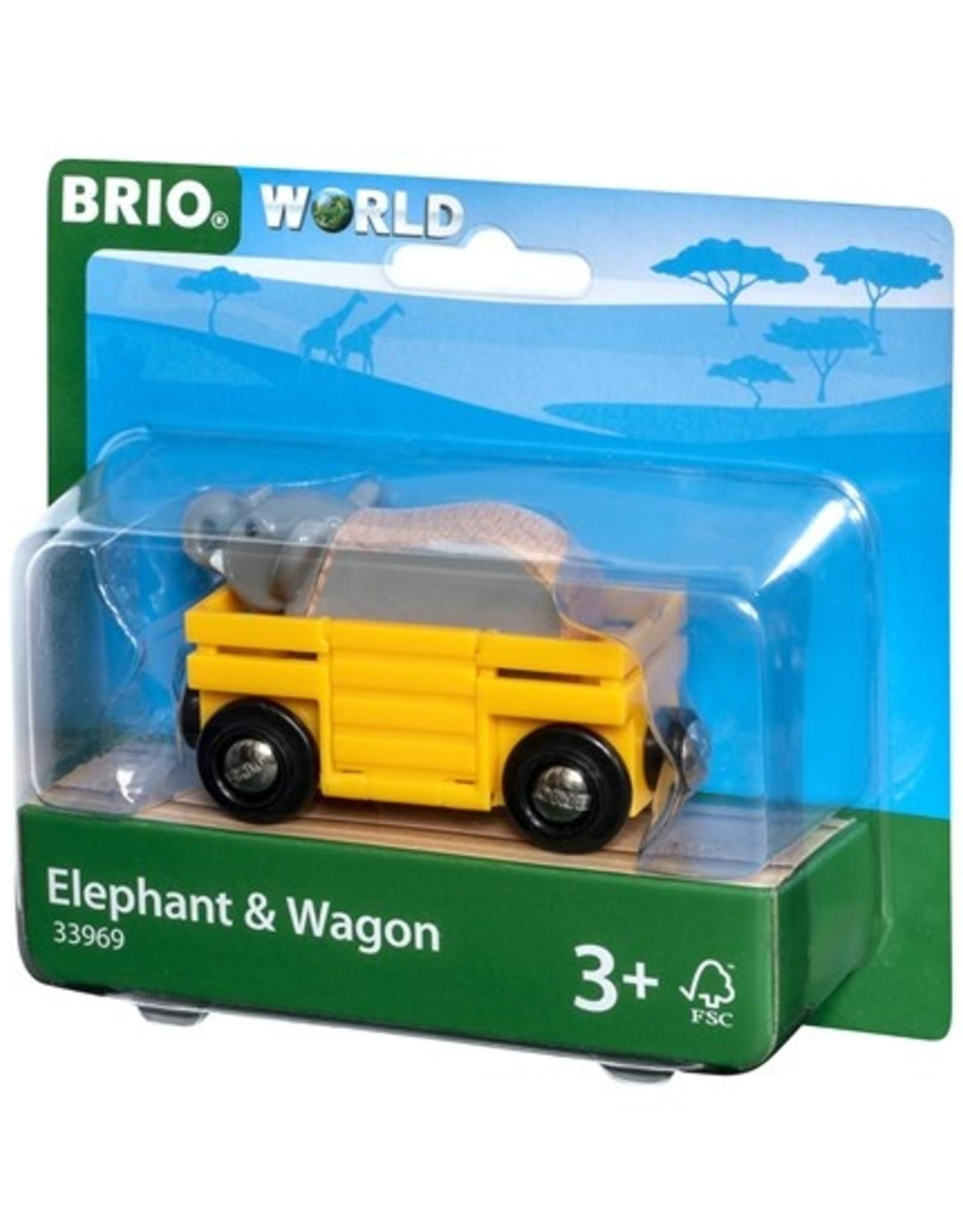 Brio Wagon met Olifant