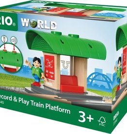 Brio Record & Play Train Platform