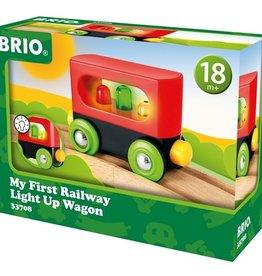 Brio Eerste Wagon met Lichtjes