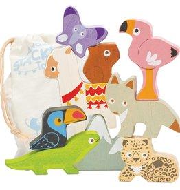 Le Toy Van Stapeltoren Safari