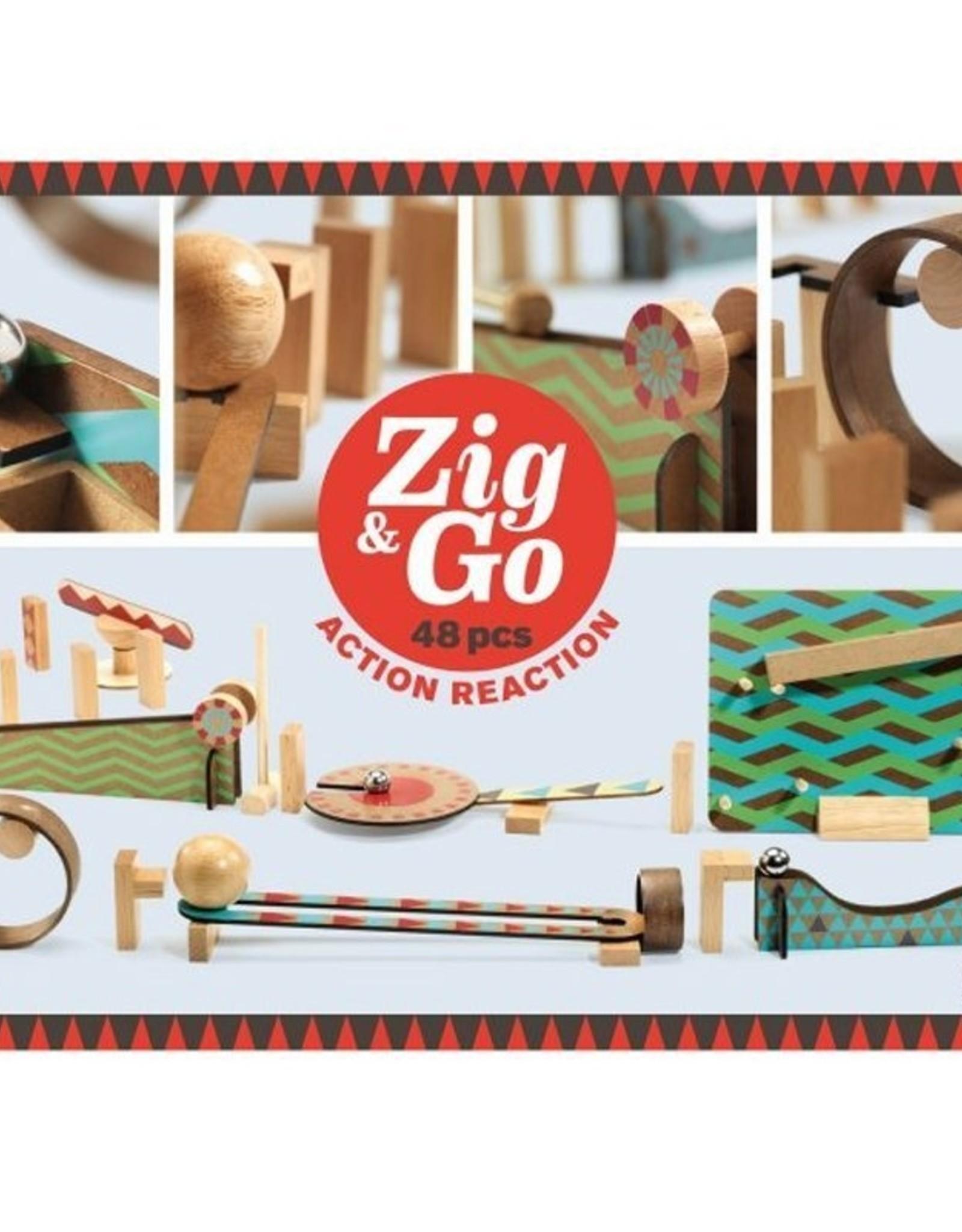 Djeco Zig & Go 48ST