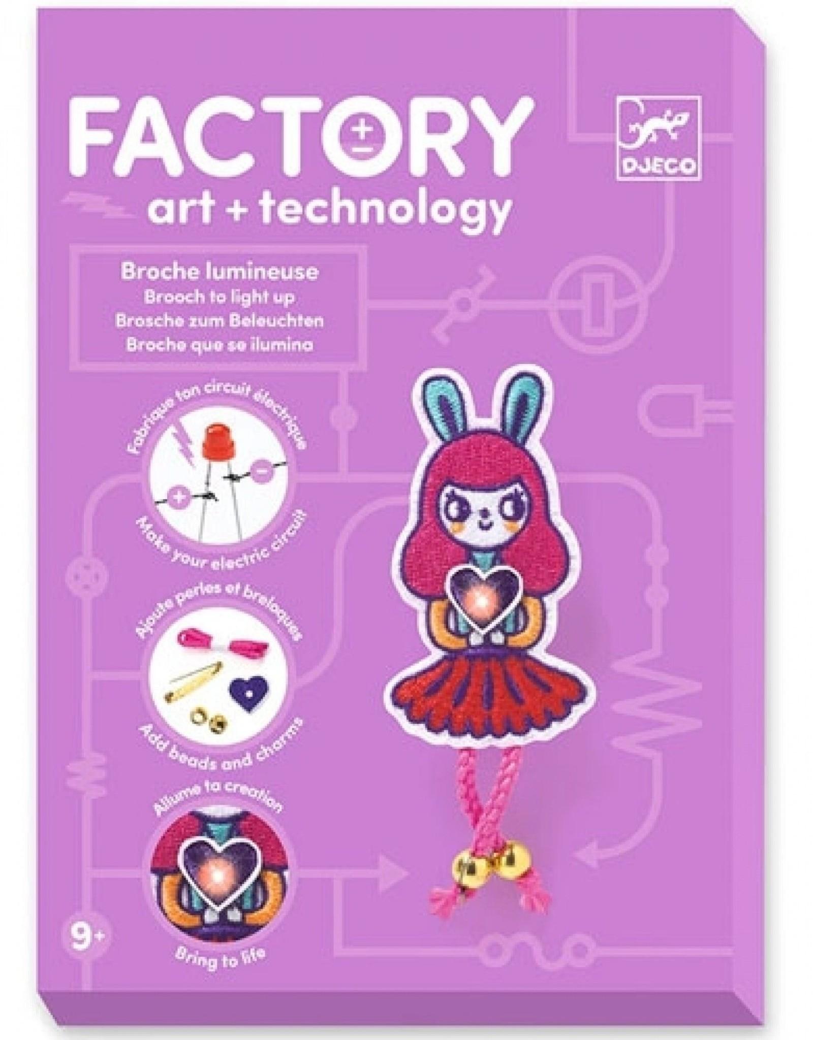 Djeco Factory Art + Technology Broche