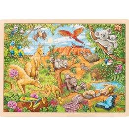Goki Puzzel Australische Dieren 3+