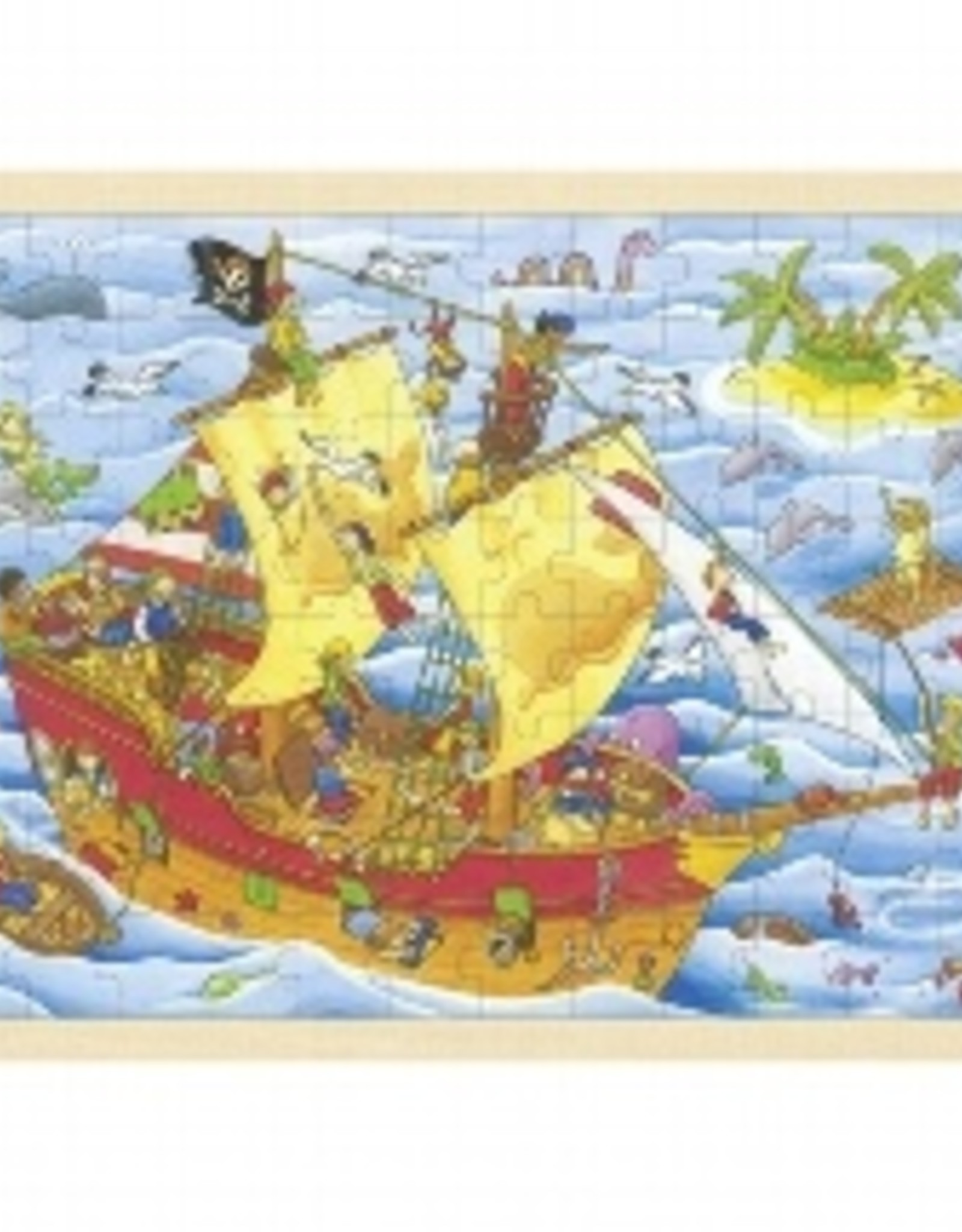 Goki Puzzel Piratenschip 3+