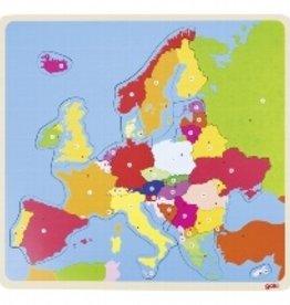 Goki Puzzel Europa 5+