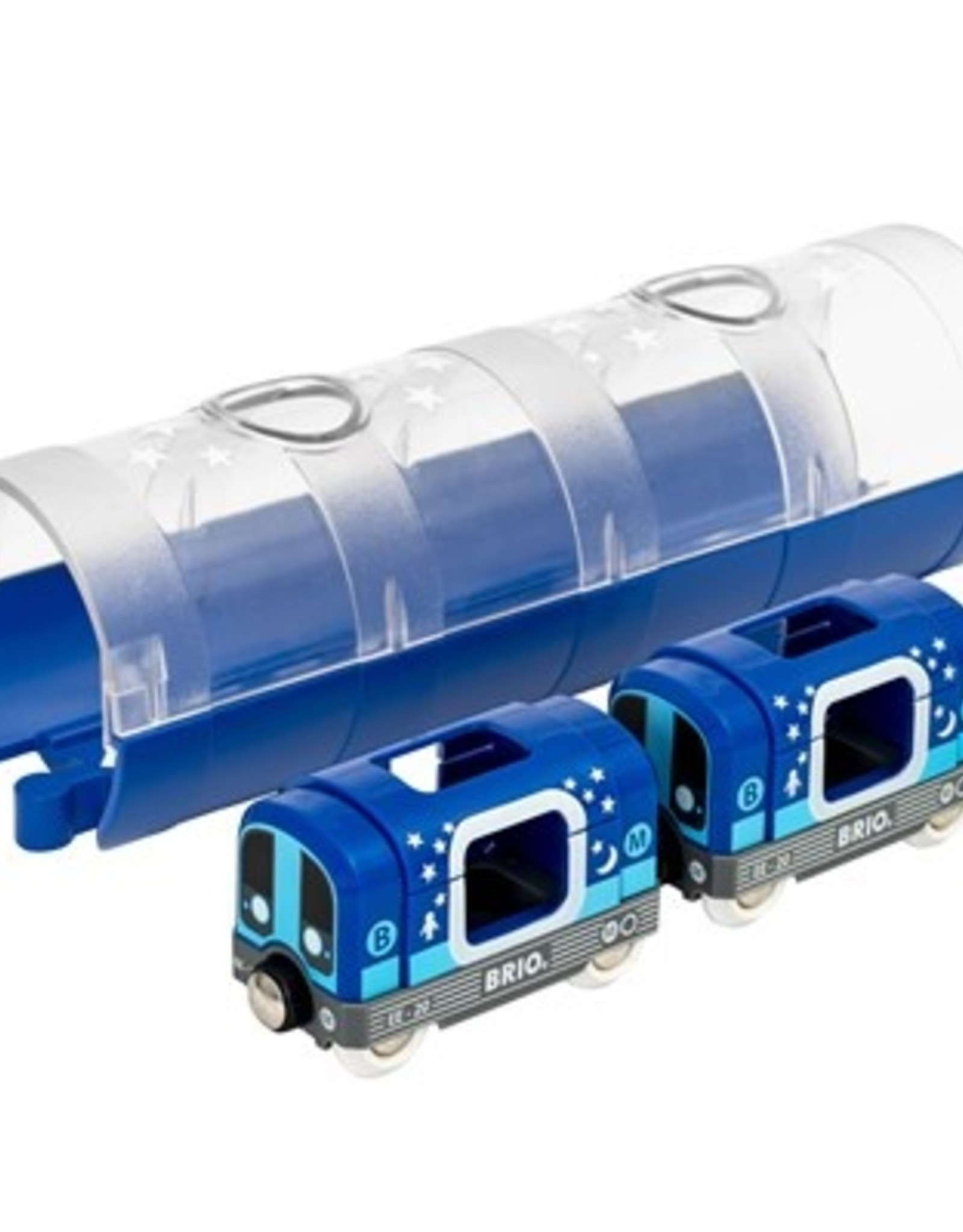 Brio Metrotrein en Tunnel