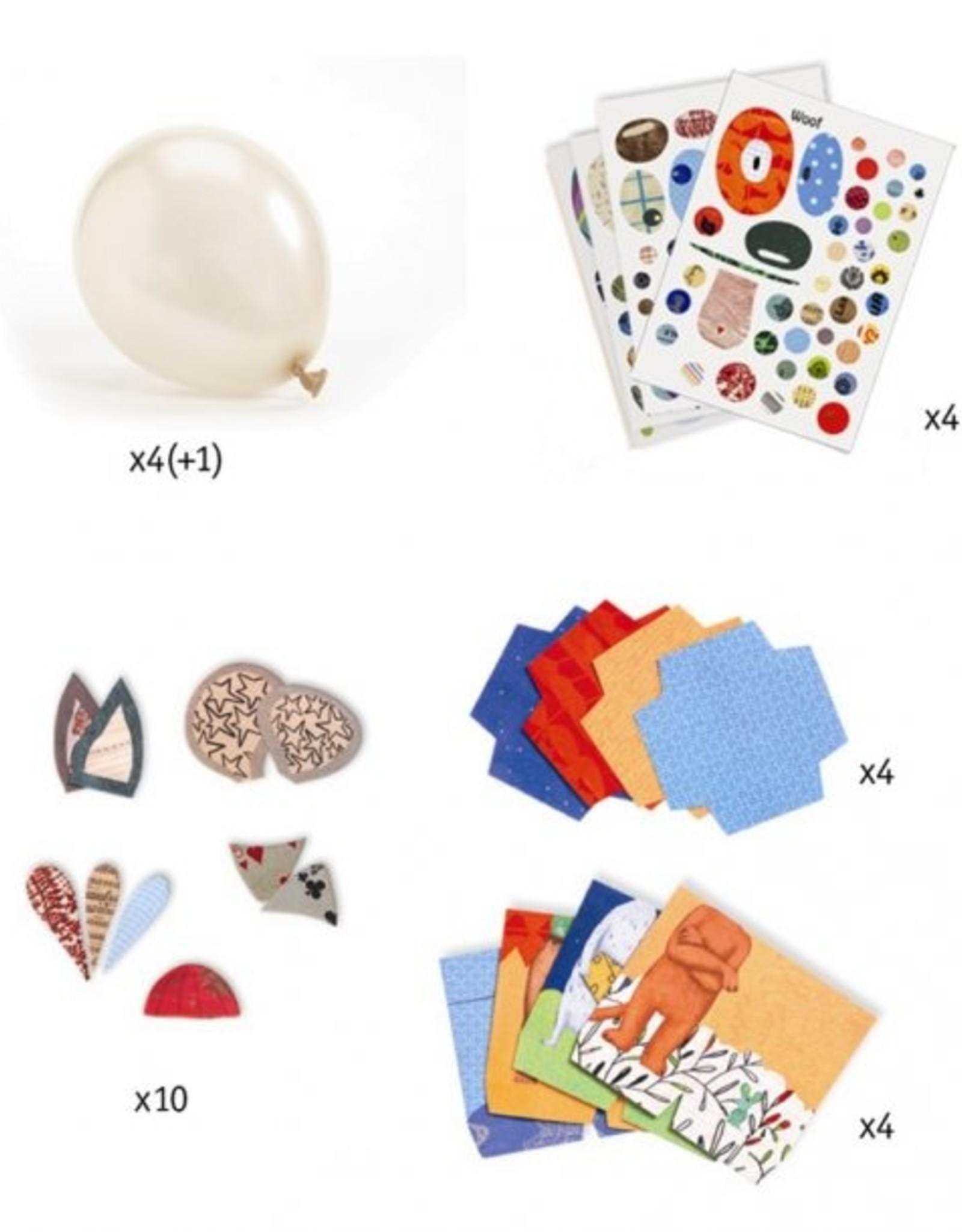 Djeco DIY Ballon Dieren
