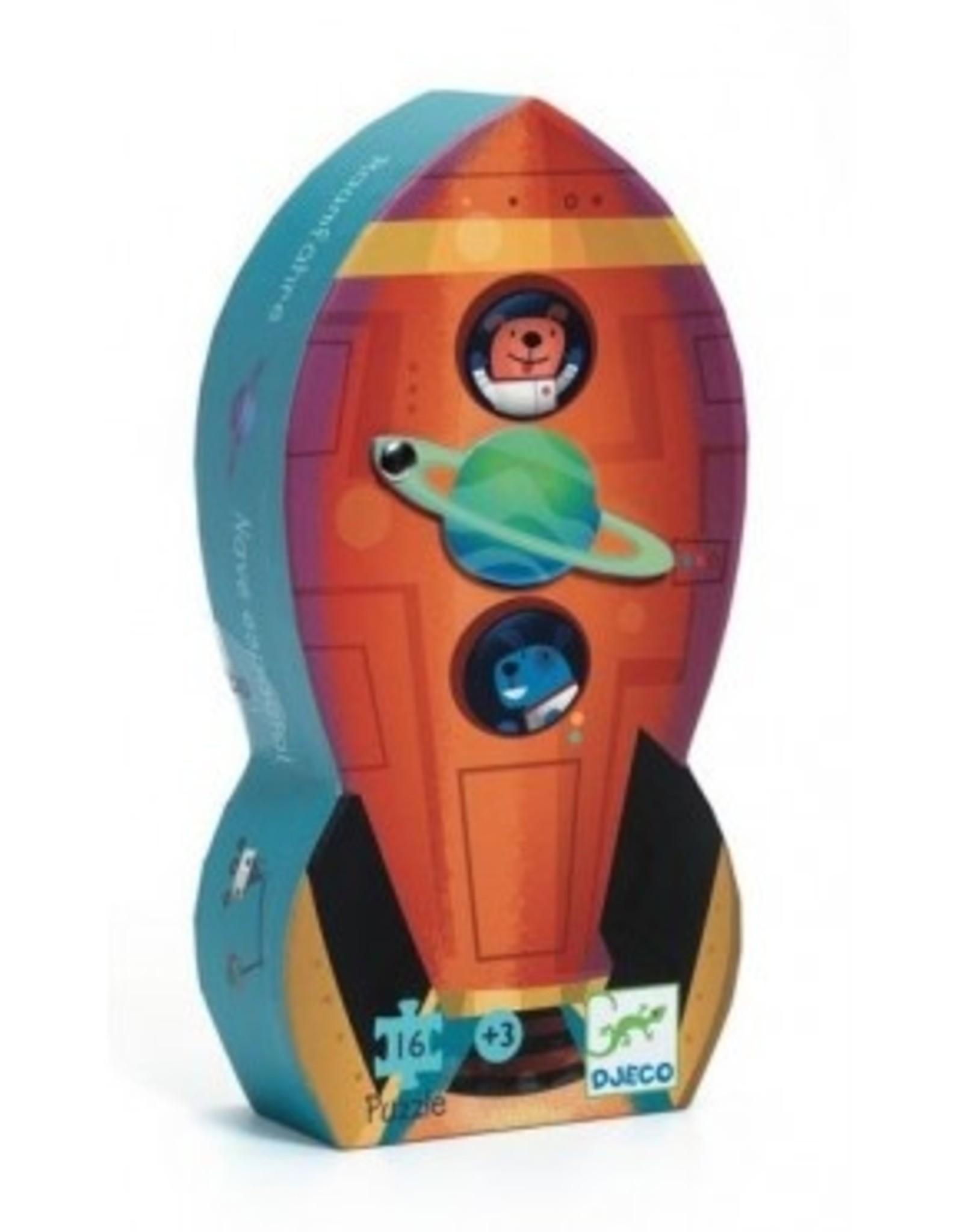 Djeco Puzzel Raket