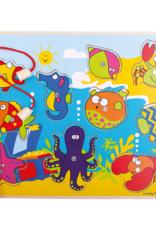 Bigjigs Zeedieren Visspel