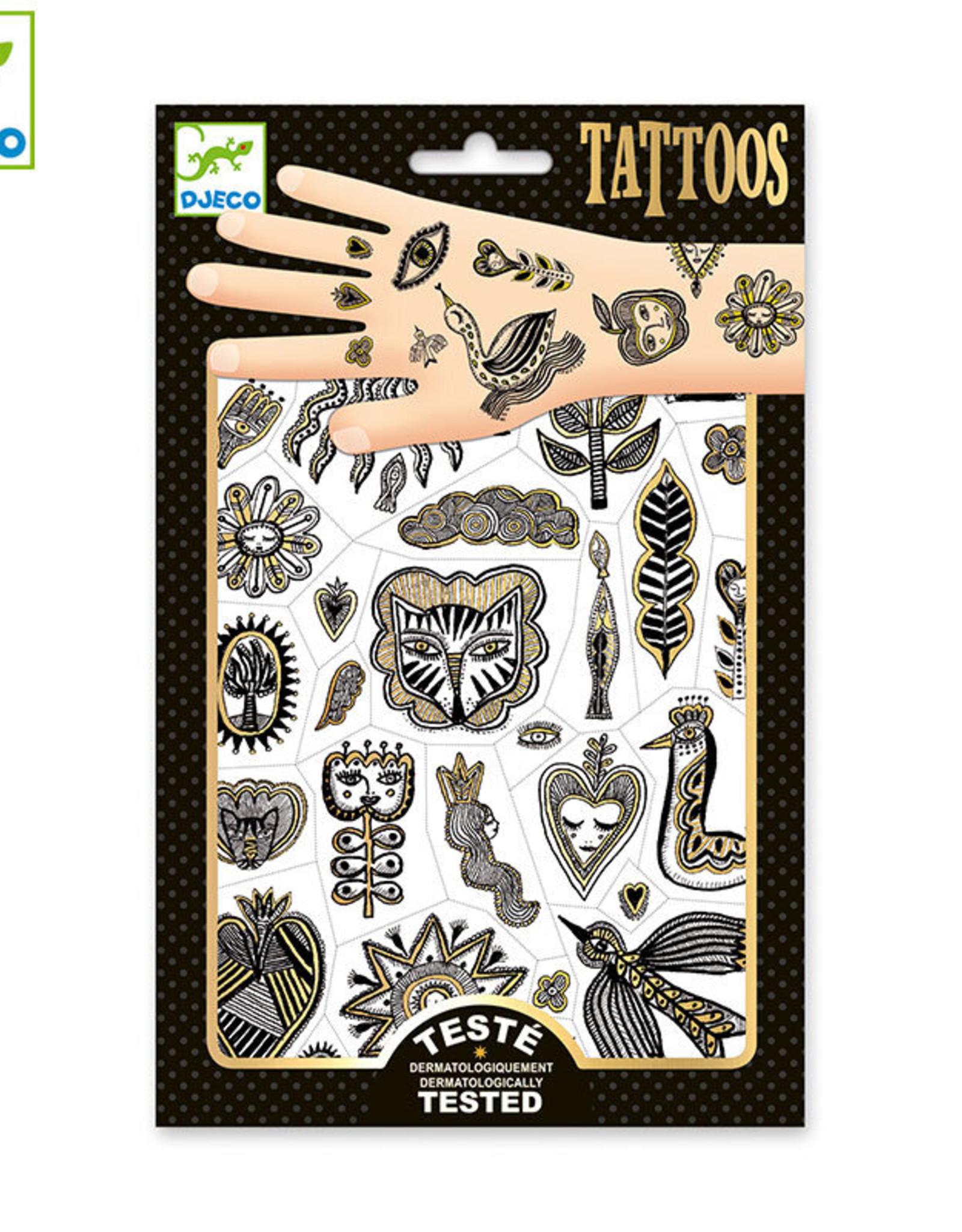 Djeco Tatto0 Golden Chic