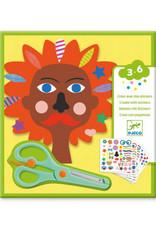 Djeco Creëer met Stickers Kapper