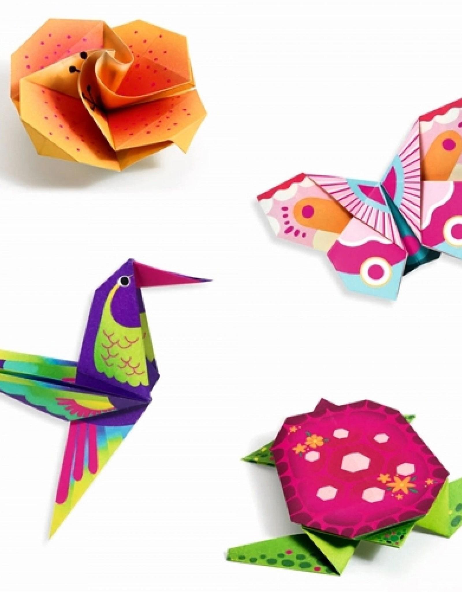 Djeco Origami Tropische Dieren