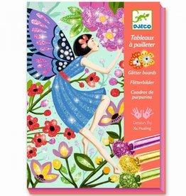Djeco Glitterschilderij Fairies