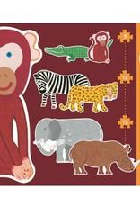 Djeco Puzzel Geant Safaridieren