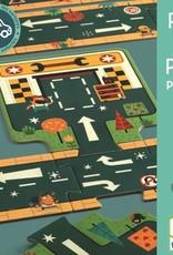 Djeco Puzzel Auto Routes