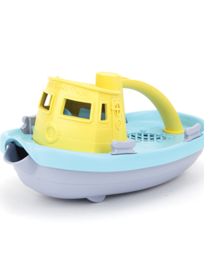 Green Toys Tugboat Pastel