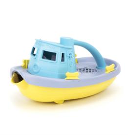 Green Toys Tugboat Blauw/Geel