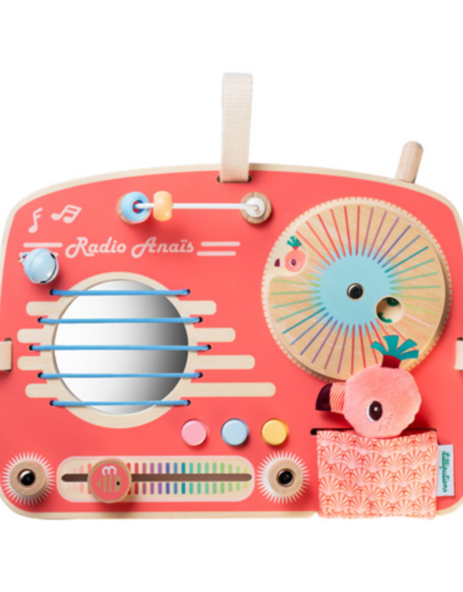 Lilliputiens Radio activiteitenpaneel