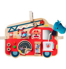 Lilliputiens Brandweerwagen activiteitenpaneel