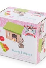Le Toy Van Konijn & Cavia set