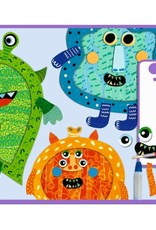 Djeco Monsters Collages