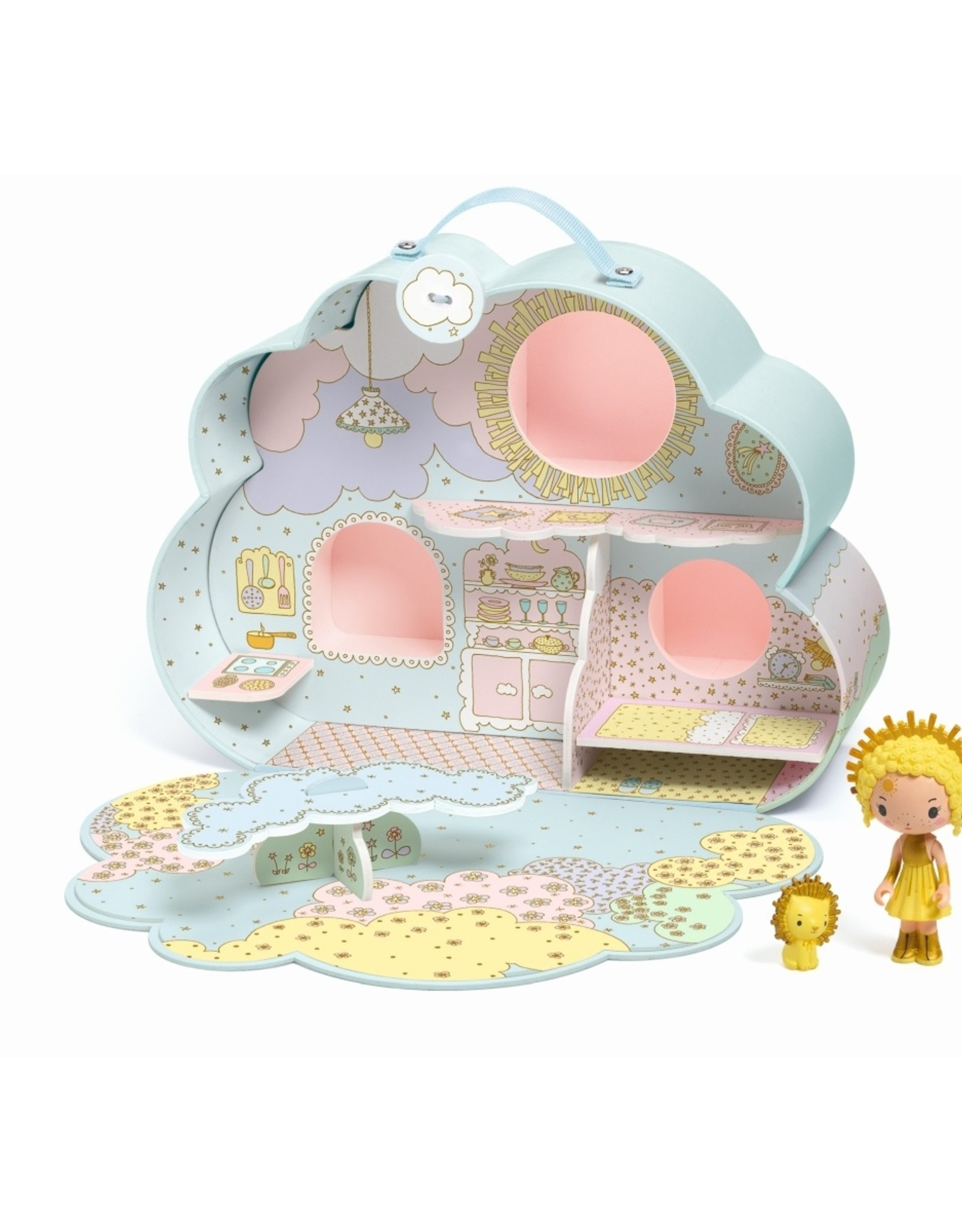 Djeco Wolkenhuisje Sunny & Mia