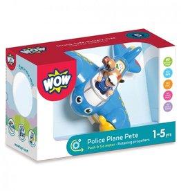 WOW Toys Politie Vliegtuig Pete