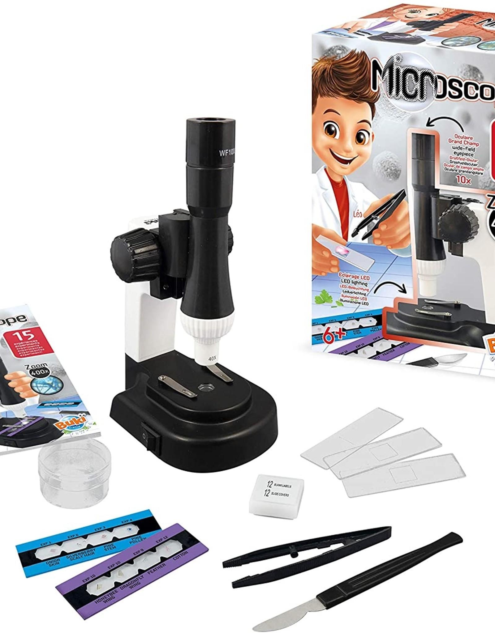 Buki Microscoop met 15 Experimenten