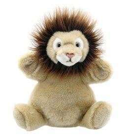 Handpop Cuddly Leeuw