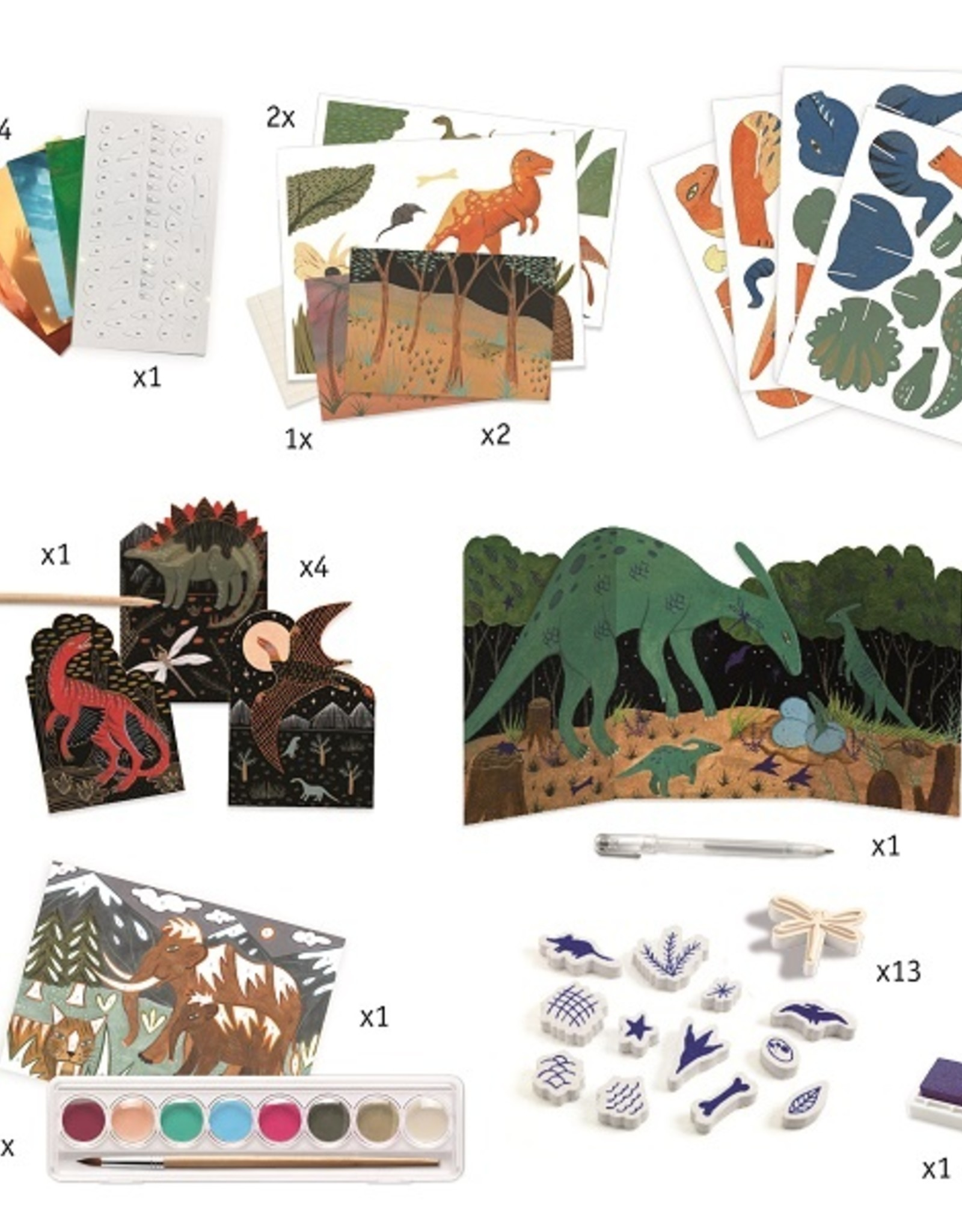 Djeco Dino Box