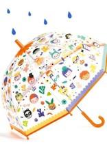 Djeco Magische Paraplu Faces