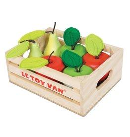 Le Toy Van Appels en Peren in Krat