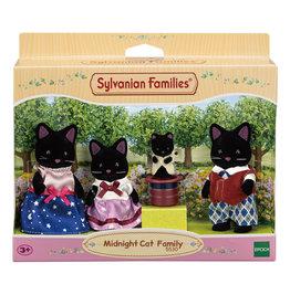 Sylvanian Families Night Cat Familie