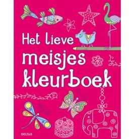 Deltas Lieve meisjes kleurboek