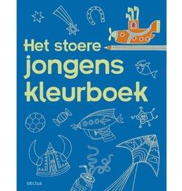 Deltas Stoere jongens kleurboek