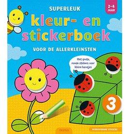 Deltas Superleuk Kleur & stickerboek