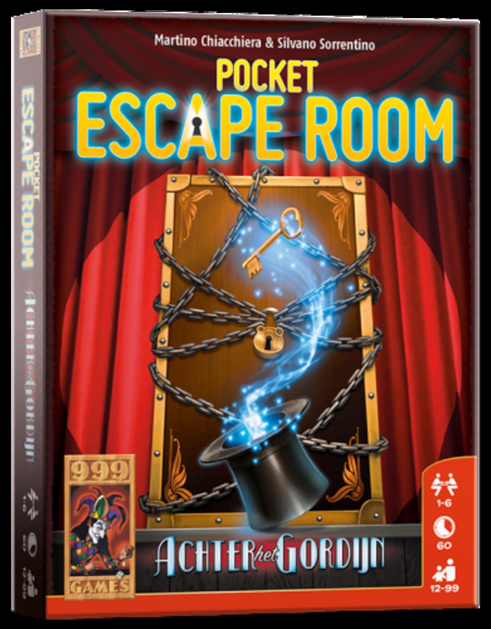 999 Games Pocket Escape Gordijn