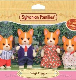 Sylvanian Families Corgi Familie
