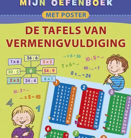 Deltas Oefenboek met poster Tafels 7-8