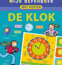 Deltas Oefenboek met poster Klok 7-9