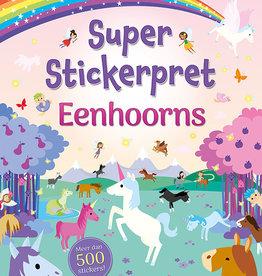Deltas Super stickerpret Unicorn